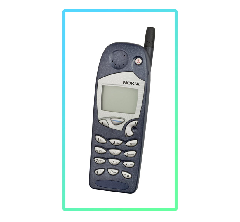 an old Nokia mobile phone